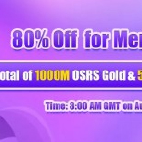 Group logo of Great Promo 80% Off Runescape 2007 Gold & More Offered for RSorder Members on Aug 21